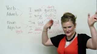 Basic English Grammar - Noun, Verb, Adjective, Adverb