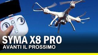 SYMA X8 PRO con GPS Recensione Italiano (ma cosa sta succedendo??)