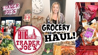 TRADER JOES GROCERY HAUL 2019 | JESSICA O'DONOHUE