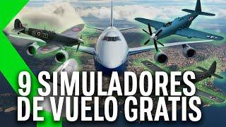 ✈️✈️Los 9 MEJORES FLIGHT SIMULATORS...y GRATIS!!✈️✈️