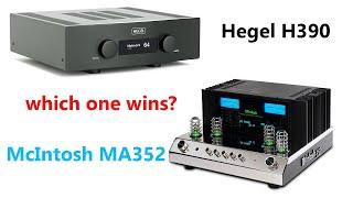 McIntosh MA352 vs Hegel H390