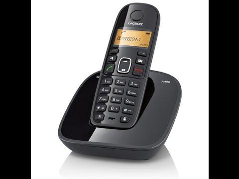 TELEFONO INALAMBRICO GIGASET A490 LCD