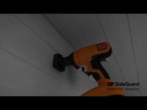 Montering af Safeguard lamper