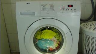 AEG Lavamat Protex L72475FL Washing machine, 20 min - 3 kg program, Quick wash - test example #191