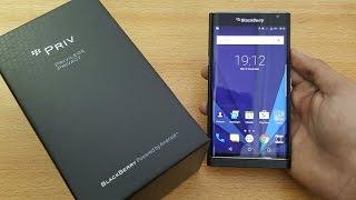 Blackberry Priv - Unboxing, Setup & First Look (4K)