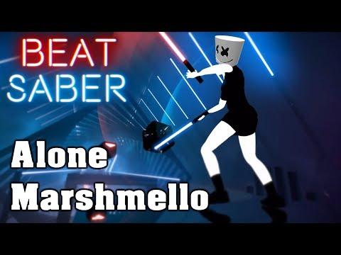 Beat Saber - Alone - Marshmello (custom song) | FC