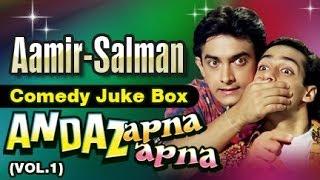 Salman Khan, Aamir Khan - Andaz Apna Apna