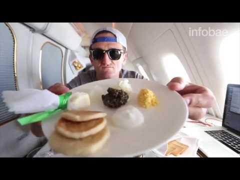 Viajamos En Avión En 1 Clase Con Un Boleto De 21 Mil Dólares