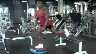 Calgary Fitness Tutorial: Bosu Lunges
