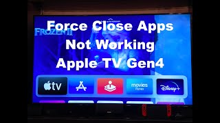 How To Close Apps On Apple TV That Quit Working Correctly