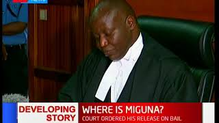 Judge Luka Kimaru orders Deputy DPP to appear in court to ascertain Miguna Miguna's charges