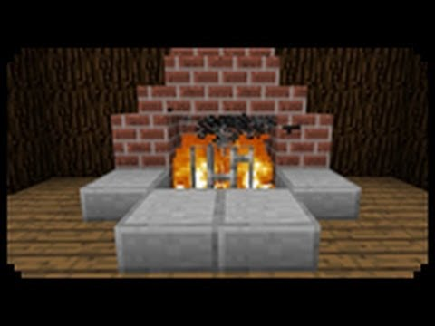 ✔ Minecraft: How to make a Fireplace