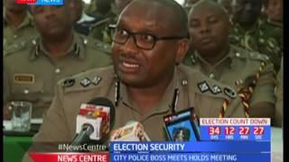 Recorded statement made by a Nairobi police boss, Japheth Koome