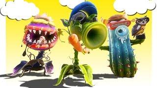 Plants vs Zombies: Garden Warfare 2 ● Монтаж ● Смешные моменты - РАСТЕНИЯ ПРОТИВ ЗОМБИ