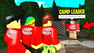 He Ran A BLOXBURG CAMP.. What's In His FORBIDDEN CABIN Will Scare You! (Roblox)