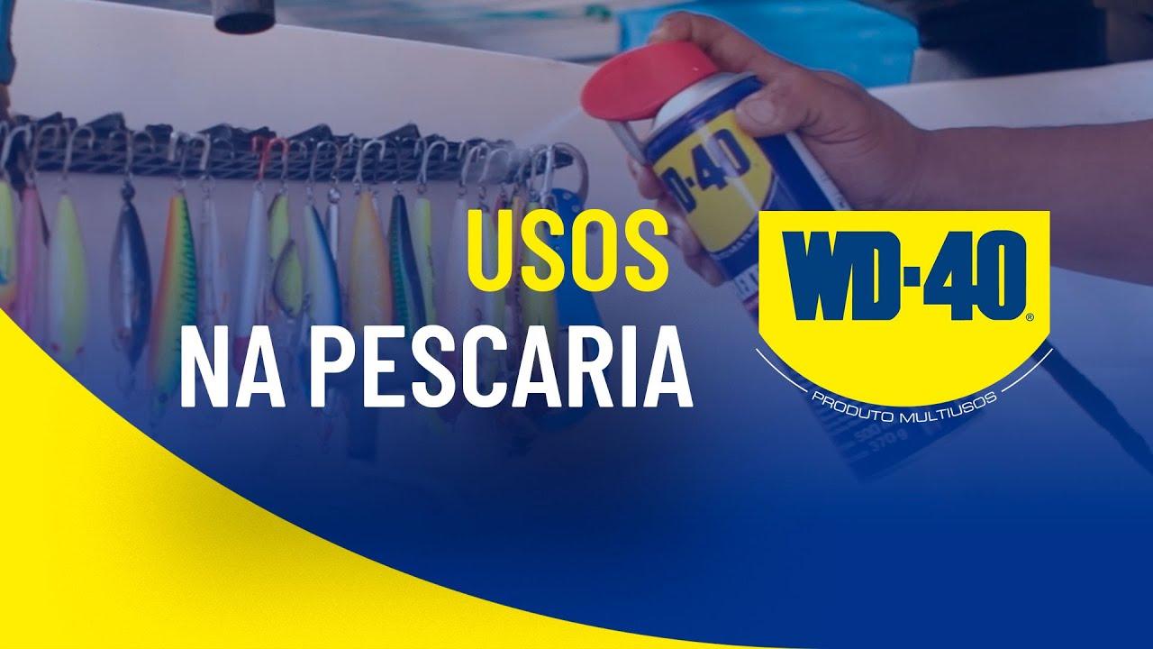 LUBRIFICAÇÃO E PROTEÇÃO DOS SEUS EQUIPAMENTOS DE PESCA E COM WD-40 PRODUTO MULTIUSOS!