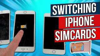 How to Transfer SIM Cards from iPhone 6 / 6s to iPhone 7 to iPhone 8