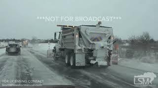 02-15-19 Topeka,KS I-70 Snow and Wrecks