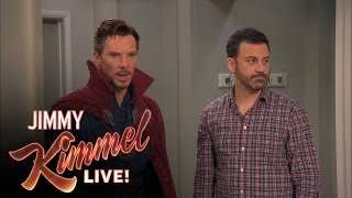 Бенедикт Камбербэтч, Jimmy Kimmel Hires Dr Strange