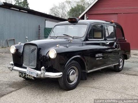 Video of Classic '67 Austin FX4 Taxi Cab - PKBX