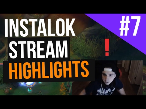 Instalok Stream Highlights #7 (League of Legends)