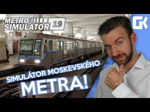 SIMULÁTOR MOSKEVSKÉHO METRA! | Metro Simulator 2019