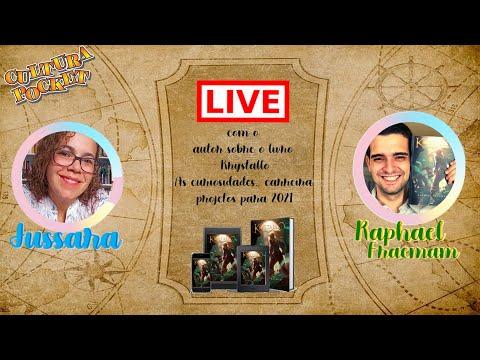 LIVE com Rafael Fraeman (13/01/21) - Autor do livro Krystallo: Jornada além das fronteiras