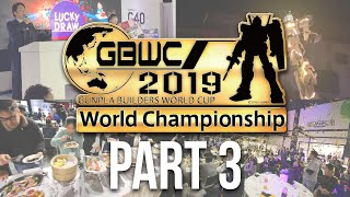 GBWC 2019 - Gunpla Builders World Cup Finals in Tokyo, Japan: The Complete Inside Experience! [Pt.3]