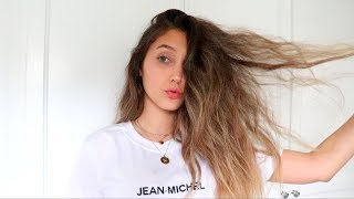 HOW TO TAME CRAZY HAIR | My Haircare Routine