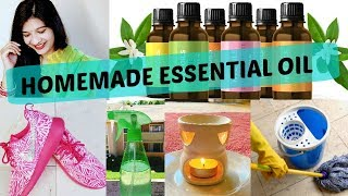DIYs, Tips & Tricks Using Essential Oils | How To Make Essential Oil At Home In Hindi | AVNI