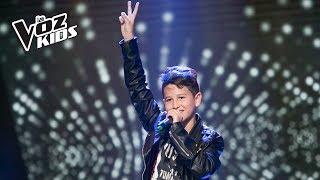 Youjuand canta Rolling in the Deep - Audiciones a ciegas   La Voz Kids Colombia 2018