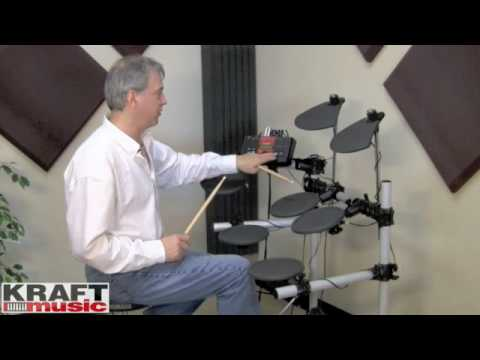 Kraft Music - Yamaha DTXPLORER Demo with Tom Griffin