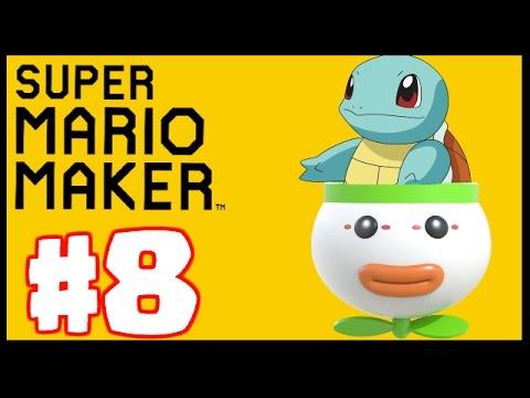 Super Mario Maker - Level Showcase - SMB3 8 in 1! - смотреть
