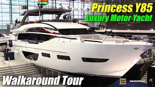 2020 Princess Y85 Luxury Yacht - Walkaround Tour - 2020 Boot Dusseldorf