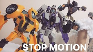 Transformers Bumblebee Vs Blitzwing  [STOP MOTION] Action Blockbuster