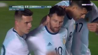 HIGHLIGHTS: Argentina vs Nicaragua