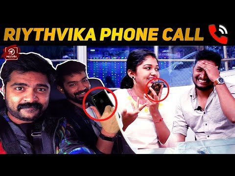 VRV Movie Ticket Irukka? Whats On My Phone With Big Boss Riythvika | Simbu,Mahat Exclusive Interview