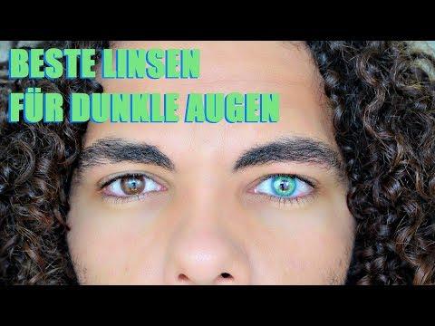 Pinky Paradis Günstige Kontaktlinsen Für Dunkle/Dunkel Braune Augen