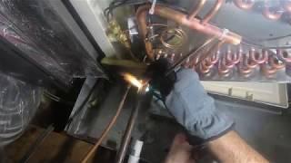 HVAC Repair Replacing a Leaky Evaporator Coil