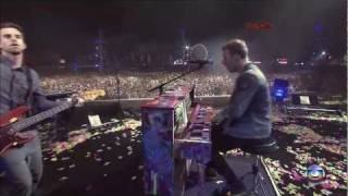 Coldplay (HD) - Life Is For Living (Rock In Rio 2011)