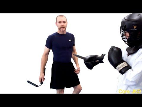 Nunchuck vs Knife Challenge—CJKD Weapons