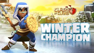 Stay Cool With the Royal Champion\'s First Skin! (Clash of Clans Season Challenges)