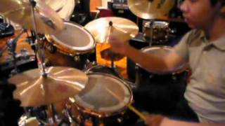 Summer Hair = Forever Young (The Academy Is) Drum Cover by Ryan (New Drum kit 1st Appearance) :)