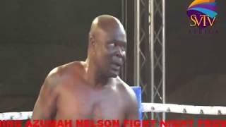 Bukom Banku Knocks Out Kabiru from Nigeria at Kwahu Abetifi