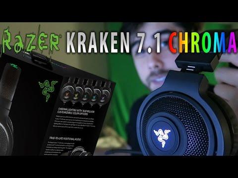 Razer Kraken 7.1 Chroma Headset – Review & Unboxing