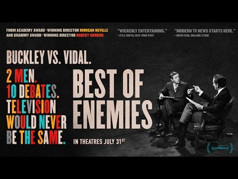 New Film Explores Fiery Bill Buckley-Gore Vidal ABC Debates in 1968