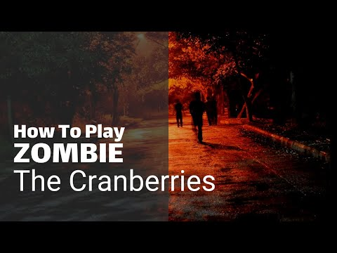 How to play Zombie on acoustic guitar - songs for beginners - Guitar Couch Lessons
