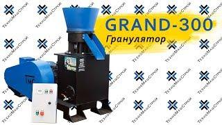 Гранулятор комбикорма, пеллет GRAND-300 (300 кг/час - 800/час) от компании ТехноМашСтрой - видео