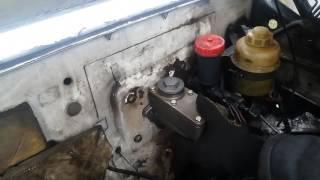 (ГАЗ-3309) Переоборудование тормозной системы газ 3309 на газ 3307 (часть 2)