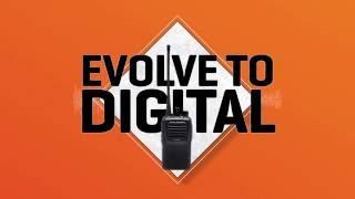 Motorola (Vertex) EVX-261 digitális kézi URH rádió